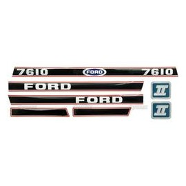 Kit Pegatinas-Ford 7610 Force Ii