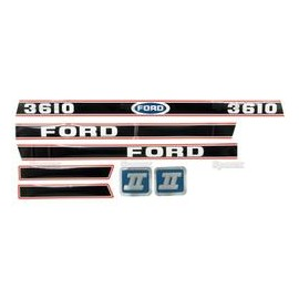 Kit Pegatinas-Ford 3610 Force Ii
